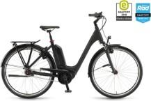 e-Citybike Winora Tria N8 Schwarz matt
