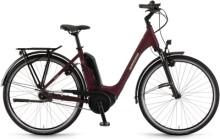 e-Citybike Winora Tria N7 eco Burgundyred matt