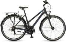 Trekkingbike Winora Domingo 21 Schwarz/Blau matt Mid
