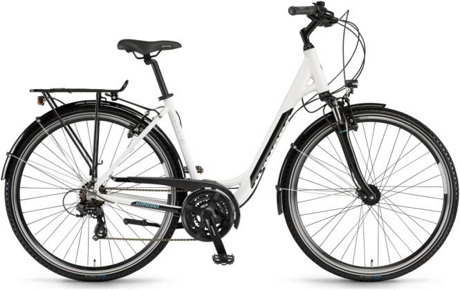 Trekkingbike Winora Domingo 21 Telegrau/Schwarz Low 2021
