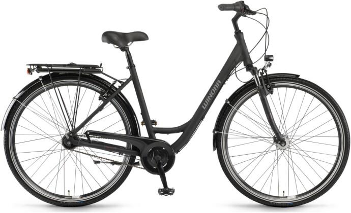 Citybike Winora Hollywood N7 Schwarz matt 2021