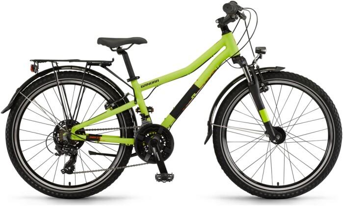 Kinder / Jugend Winora Dash 24 21-Gang Lime matt 2021