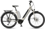 e-Trekkingbike Winora Sinus 9 Linenwhite