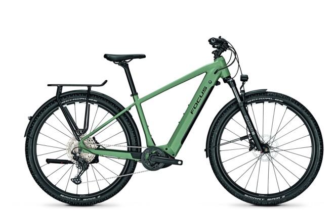 e-Trekkingbike Focus AVENTURA² 6.8 Mineral Green 2021
