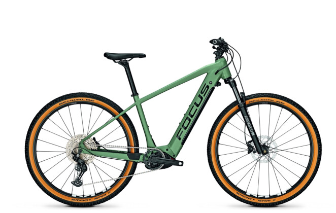 e-Mountainbike Focus JARIFA² 6.8 Seven Mineral Green 2021