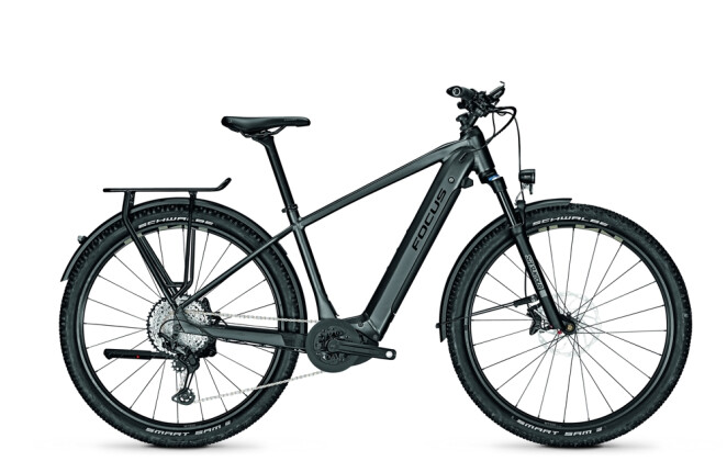 E-Bike Focus AVENTURA² 6.9 Diamond Black 2021