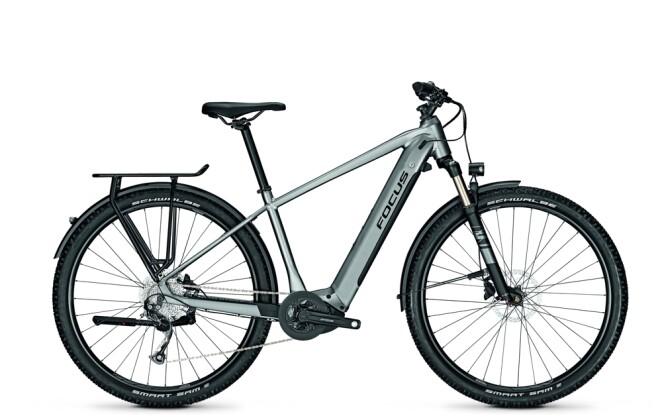 e-Trekkingbike Focus AVENTURA² 6.7 Toronto Grey 2021