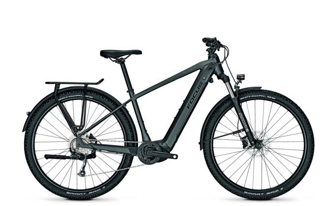 e-Trekkingbike Focus AVENTURA² 6.6 Diamond Black 2021