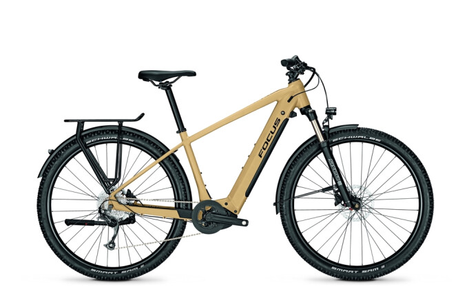 e-Trekkingbike Focus AVENTURA² 6.6 Sand Brown 2021
