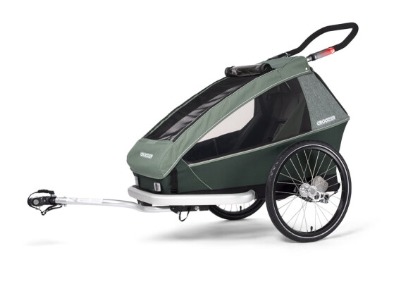 Anhänger Croozer Croozer Kid Vaaya 1 Jungle green 2021