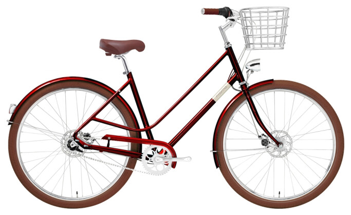 Citybike Creme Cycles Eve 7, 7s Dynamo red 2021