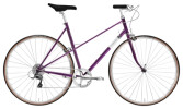 Race Creme Cycles Echo Uno Mixte 8-speed purple