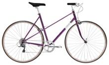 Race Creme Cycles Echo Uno Mixte 8-speed purple