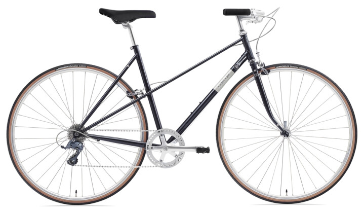 Race Creme Cycles Echo Uno Mixte 8-speed black 2021
