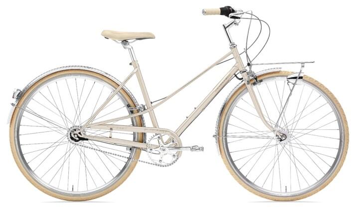 Citybike Creme Cycles Caferacer Lady Doppio 7-speed dynamo gold 2021