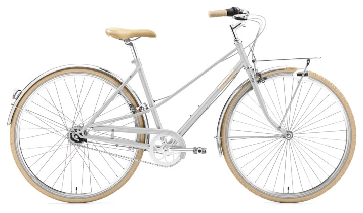 Citybike Creme Cycles Caferacer Lady Solo 7-speed silver 2021