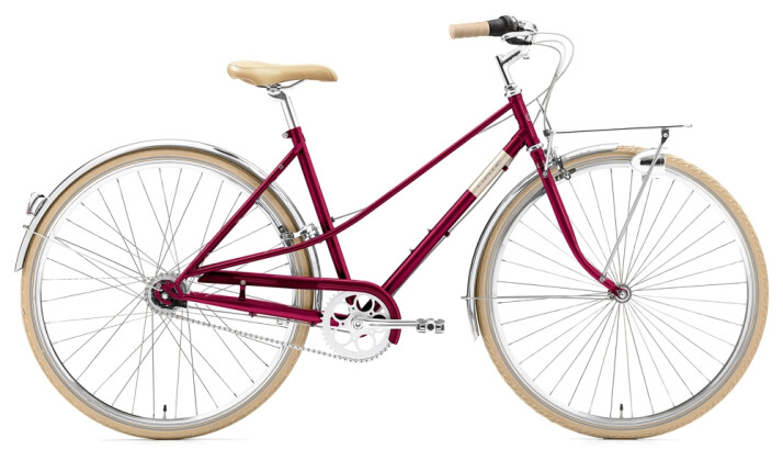 Citybike Creme Cycles Caferacer Lady Solo 7-speed red 2021
