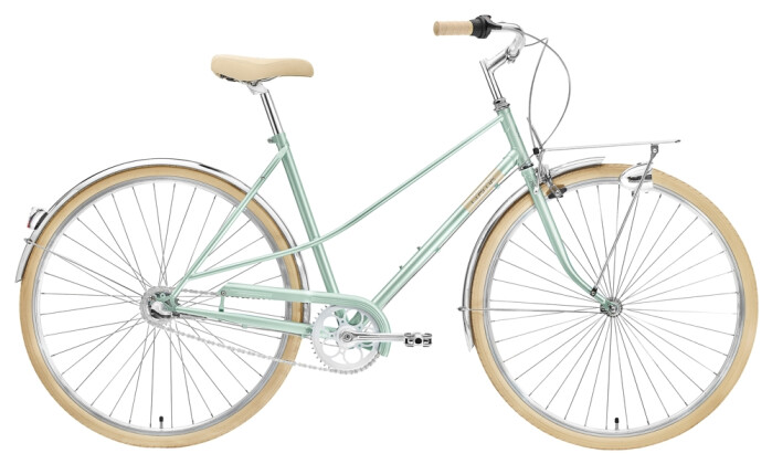 Citybike Creme Cycles Caferacer Lady Uno 3-speed green 2021