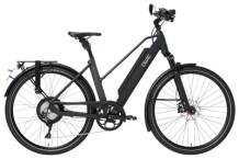 e-Trekkingbike QWIC PERF RD11 SPEED TRAPEZ MATTE BLACK