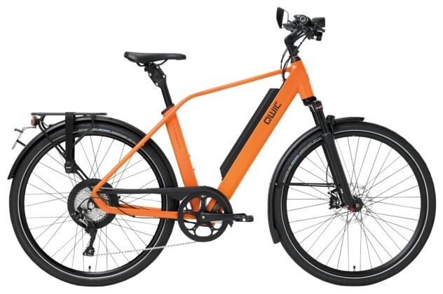 e-Trekkingbike QWIC PERF RD11 SPEED DIAMOND DUTCH ORANGE 2021