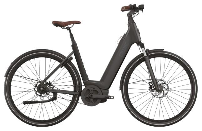 e-Citybike QWIC PREM Q MN8 BELT MT4 LOWSTEP ASPHALT BLACK 2021
