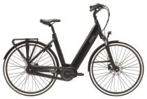 e-Citybike QWIC PREMIUM i MN8C FEMALE CHARCOAL BLACK