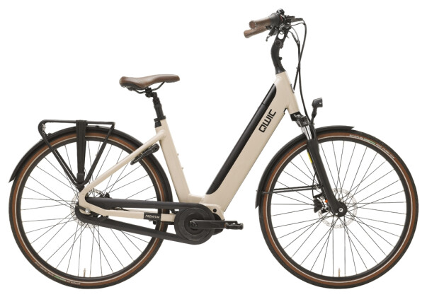 e-Citybike QWIC PREMIUM i MN8C FEMALE MAPLE SAND 2021