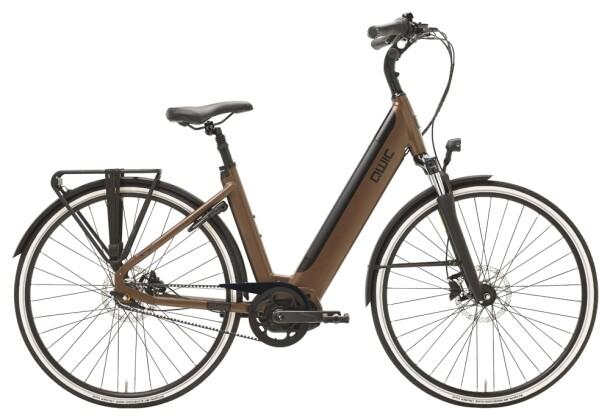 e-Citybike QWIC PREMIUM i MN7+ BELT FEMALE WALNUT BROWN 2021