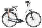 e-Citybike QWIC PREMIUM MN7 VV BAFANG FEMALE CHALK WHITE
