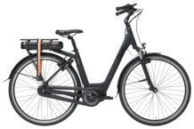 e-Citybike QWIC PREMIUM MN7 VV BAFANG FEMALE  MATTE BLACK