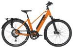 e-Trekkingbike QWIC PERF RD11 TRAPEZ DUTCH ORANGE