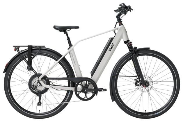 e-Trekkingbike QWIC PERF RD11 DIAMOND CHALK WHITE 2021