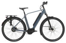 e-Citybike QWIC PERF MN380 BELT BROSE DIAMOND STEEL BLUE