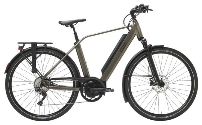 e-Trekkingbike QWIC PERF MD11 BROSE S DIAMOND ANTRACITE 2021