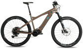 e-Mountainbike Nox Cycles Hybrid XC Trail coffee Pro