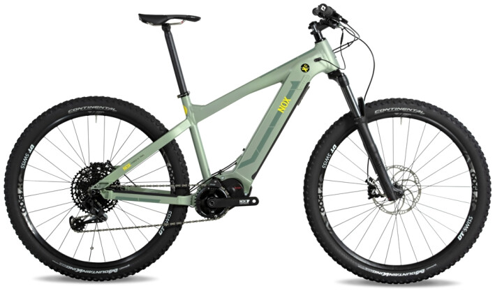 e-Mountainbike Nox Cycles Hybrid XC Trail olive 2021