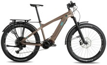e-Mountainbike Nox Cycles Hybrid XC Tour coffee