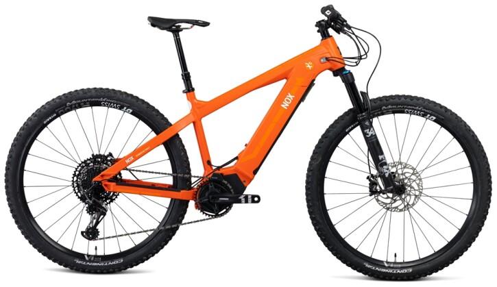 e-Mountainbike Nox Cycles Hybrid XC Trail volcano Pro 2021