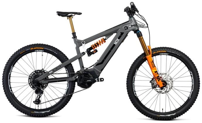 e-Mountainbike Nox Cycles Hybrid Enduro 7.1 stone Pro 2021