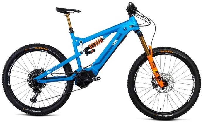 e-Mountainbike Nox Cycles Hybrid Enduro 7.1 aqua Pro 2021
