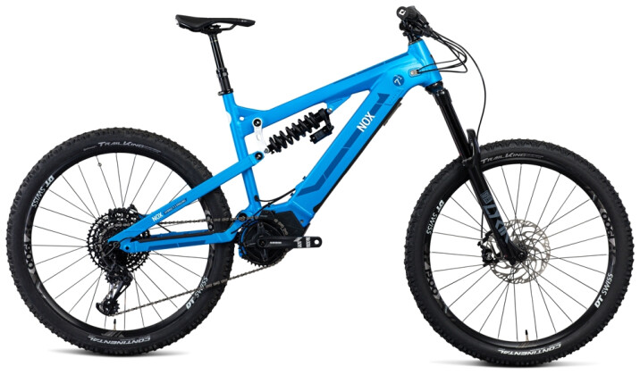 e-Mountainbike Nox Cycles Hybrid Enduro 7.1 aqua 2021