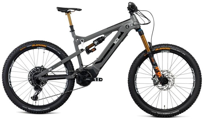 e-Mountainbike Nox Cycles Hybrid All Mountain 5.9 stone Pro 2021