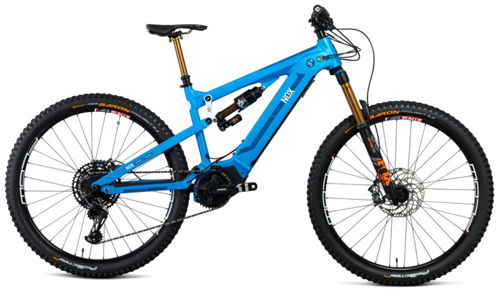 e-Mountainbike Nox Cycles Hybrid All Mountain 5.9 aqua Pro 2021