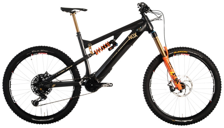 e-Mountainbike Nox Cycles Helium Enduro 7.1 phantom 2021