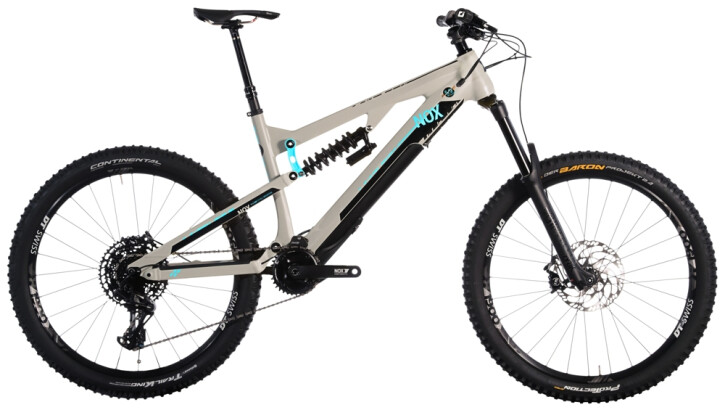 e-Mountainbike Nox Cycles Helium Enduro 7.1 Open Source granit 2021