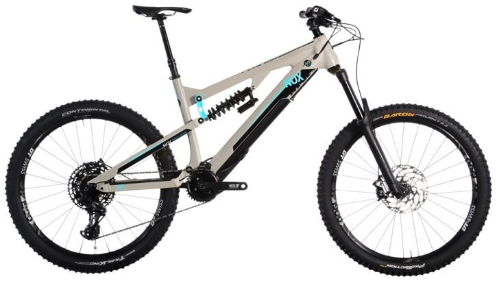 e-Mountainbike Nox Cycles Helium Enduro 7.1 granit 2021