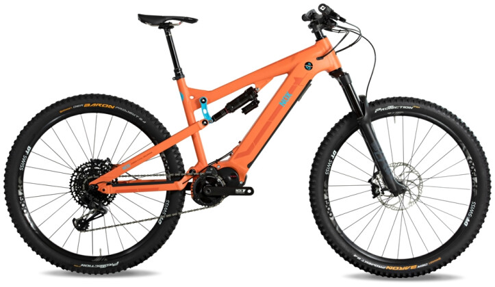 e-Mountainbike Nox Cycles Hybrid All Mountain 5.9 fire 2021