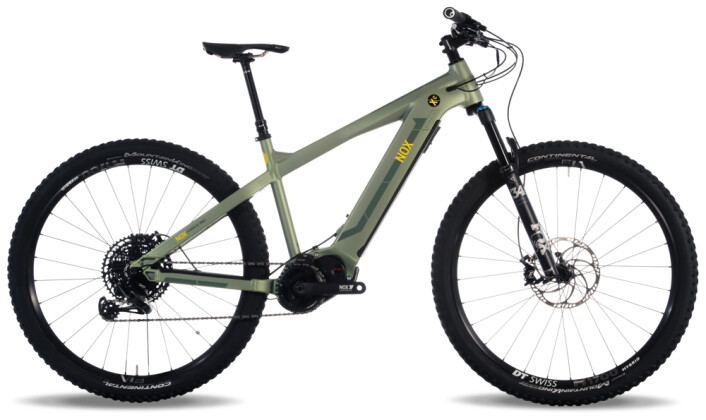 e-Mountainbike Nox Cycles Hybrid XC Trail olive Pro 2021