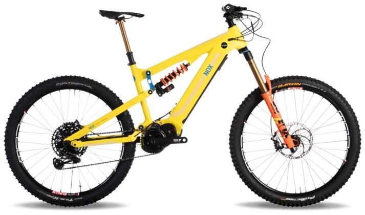 e-Mountainbike Nox Cycles Hybrid Enduro 7.1 lemon Pro 2021