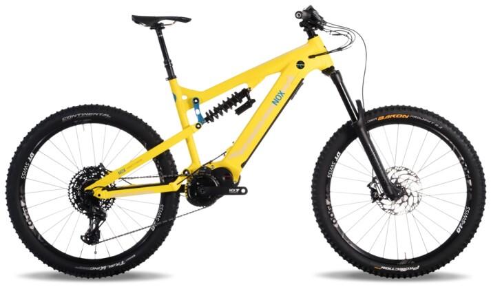 e-Mountainbike Nox Cycles Hybrid Enduro 7.1 lemon 2021